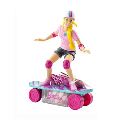 Barbie skateboard