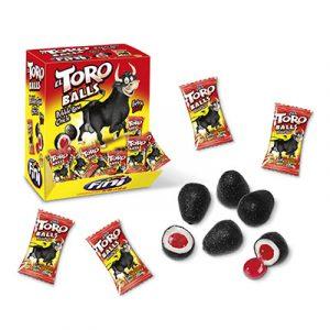 Chicle El Toro Balls - estuche pesebre 200u con producto