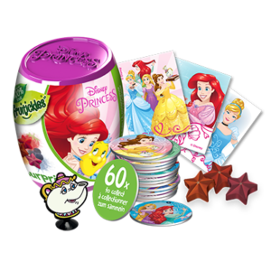 PRINCESS SURPRISE CAPSULE WITH FILL VIS - NEW
