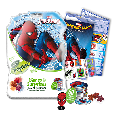 SPIDERMAN SMALL SURPRISE BAG WITH FILL VIS – NEW