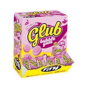 CHICLE CLUB DISPLAY