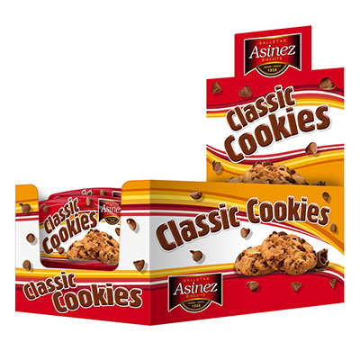 Display Cookies 40g 4x18pcs